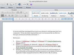 papers support mac creating your bibliography
