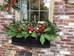 Christmas Window Box Decorations Botanical Christmas Decorations Minervas Garden Blog A Wreath For 94