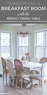 transforming a breakfast room with the perfect dining table french country