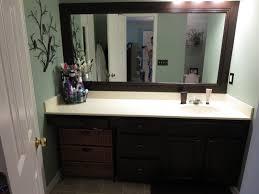 Framing Bathroom Mirror With Molding  Home Decoration - Trim around bathroom mirror