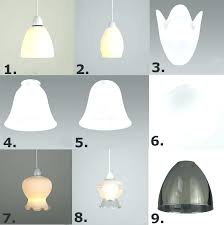 tulip lamp shade replacements tulip lamp shades set of 3 glass ceiling shades replacement frosted acid