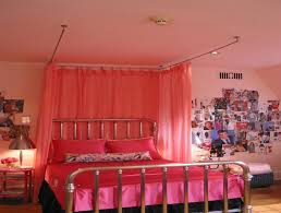 Ceiling Fabric Draping Bedroom Diy