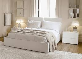 Buy White Bedroom Furniture maestro bedside table white high gloss