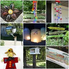 garden crafts. Lots Of Garden Crafts That You Can Make! Create Your Own Decorations With These T