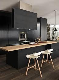 Nice Cuisine Gris Et Noir Comment Repeindre Une Id Es En Photos Kitchen Pinterest