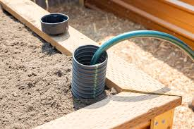 self watering garden bed. Perfect Bed How To Build A SelfWatering Raised Bed Part 2 Installing The Irrigation   Dunn DIY To Self Watering Garden E