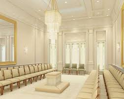 rendering of the sealing room where marriages are performed courtesy image