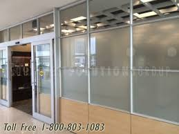 glass office wall. demountable moveable glass office walls wall e