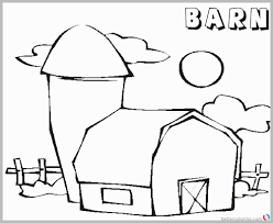 Barn Coloring Pages To Print Luxury Enchanting Barn Coloring Pages