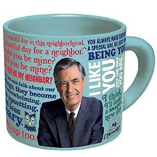 Amazon Mister Rogers Heat Changing Coffee Mug Add Hot Liquid Cool Me Too Anta Amite