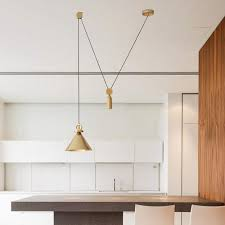 Pulley pendant light Cage Pure Gold Pulley Pendant Light Tudo And Co Pure Gold Pulley Pendant Light Tudoco Tudo And Co