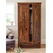 wooden wardrobe camellias collection sheesham wood