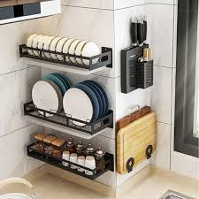 kitchen shelf bowl shelf spice rack
