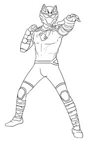 Cool Power Rangers Dino Thunder Coloring Pages Art Ideas Power