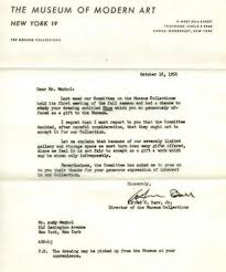 10 rejection letters that prove you shouldn t take harsh criticism andy warhol