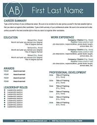 resume examples that stand out resume template