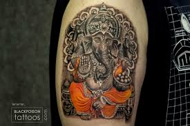 Ganesh Tattoo Best Tattoo Artist In India Black Poison Tattoo Studio