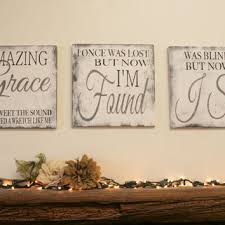 >best christian wood wall art products on wanelo amazing grace sign christian wall art distressed wood rustic woo
