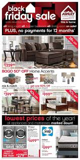 Ashley Furniture Home Store West Black Friday Flyer November 26