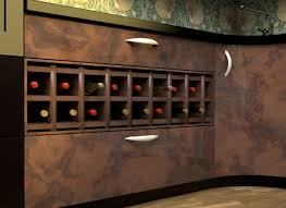Under Cabinet Wine Racks Wine Rack Kitchen Cabinet Furniture Of America Karthen Espresso