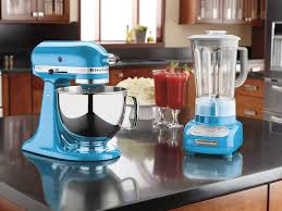 Kitchen Aid Ice Blue Kitchenaid Ksb560cl Crystal Blue Kitchen Appliances Pinterest