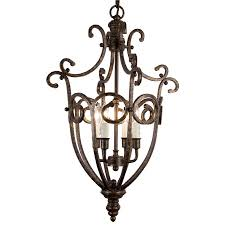 Allen Roth 7 Light Eastview Bronze Chandelier Lantern Chandelier Lowes