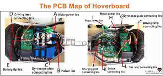 b circuit board for all hoverboard motherboard parts repair kit swagtron t5 troubleshooting at Hoverboard Wiring Diagram