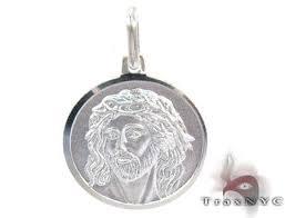white gold coin pendant 27112 mens gold