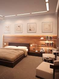 Neutral Bedroom Design Neutral Bedroom Extended Headboard Interior Design Ideas