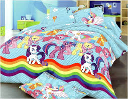 my little pony toddler bedding blue