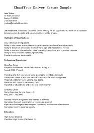 Sample Resume Family Driver Resume Ixiplay Free Resume Samples