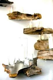live edge bookshelf natural wood floating shelves bookcase corner shelf brackets boo