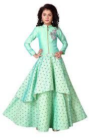 Girls Designer Outfits Charitra Girls Designer Wear Indo Western Style Dress 15 16