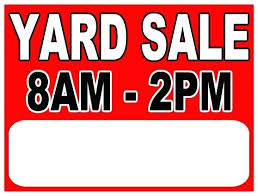 Yard Sale Signs Free Yard Sale Sign Images Turbovisas Com