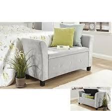 bedroom storage stool. Simple Storage Image Is Loading FabricStorageBenchChaiseLongueDeluxeStoolBedroom With Bedroom Storage Stool EBay