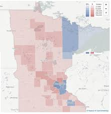 presidential elecion results map monday minnesota 2016 presidential election results streets mn