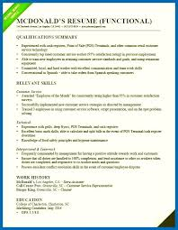 Resume Skills Summary Examples How To Write A Qualifications Summary
