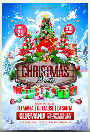 Christmas Flyer Templates 25 Christmas New Year Party Psd Flyer Templates 2019