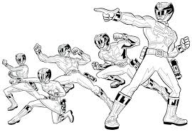 Power Rangers Coloring Pages Page Ranger Color