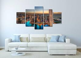 2018 wall decor canvas painting canvas art dubai uae buildings skyscrapers digital picture home pieces modular picture for bedroom from utoart  on 5 canvas wall art custom with 2018 wall decor canvas painting canvas art dubai uae buildings
