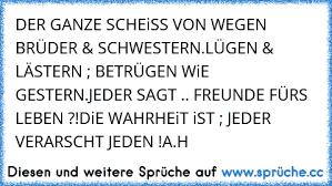 Der Gαnze Scheiß Von Wegen Brüder Scђwesternlüqen Lästern