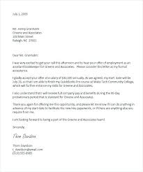 Accept Offer Letter Reply Thank Reply To An Acceptance Letter Internship Sample 7 Job Offer