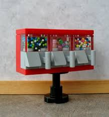 How To Make A Lego Vending Machine Cool Carousel Jukebox Style Gumball Vending Machine Bank Blue Music Notes