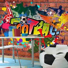 Fotobehang Football Fans Voetbal Graffiti Karo Art Vof