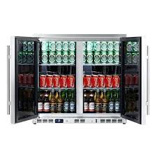 undercounter beverage fridge 2 door under counter beverage cooler with heating glass full stainless steel under counter beverage refrigerator canada