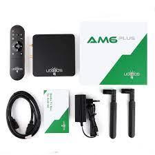 UGOOS AM6B Plus Wifi 6 TV BOX Amlogic S922X-J Thông Minh Android 9.0 DDR4  4GB 32GB AM6 Plus 2.4G 5G WiFi 1000M TVBOX Đa Phương Tiện / Home Audio &  Video Thiết Bị