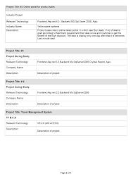 Stunning Sample Resume For Net Developer Fresher Ideas Simple