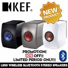 kef speakers bluetooth. kef ls50 wireless bluetooth stereo speaker / black titanium white kef speakers