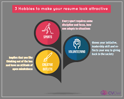 3 Hobbies To Make Your Resume Look Attractive Resume Blog Resume