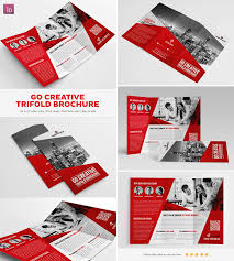 best indesign brochure templates for creative business marketing go creative indesign trifold brochure